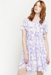 LolaLiza - GRAPHIC PRINT - Day dress - purple - 0