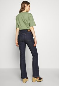 2nd Day - FIONA - Bootcut jeans - dark blue - 2