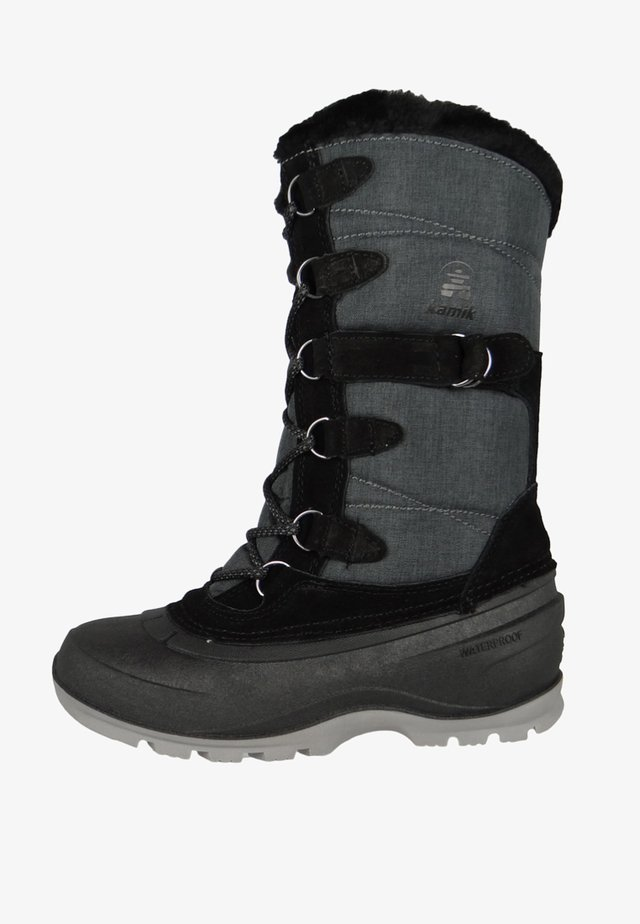 SNOVALLEY - Winter boots - black