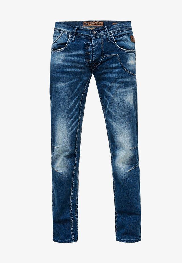RUBEN  - Straight leg jeans - dunkel blau