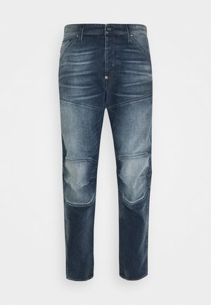 5620 3D ORIGINAL RELAXED TAPERED - Relaxed fit jeans - blend stretch denim/antic faded dark nitro