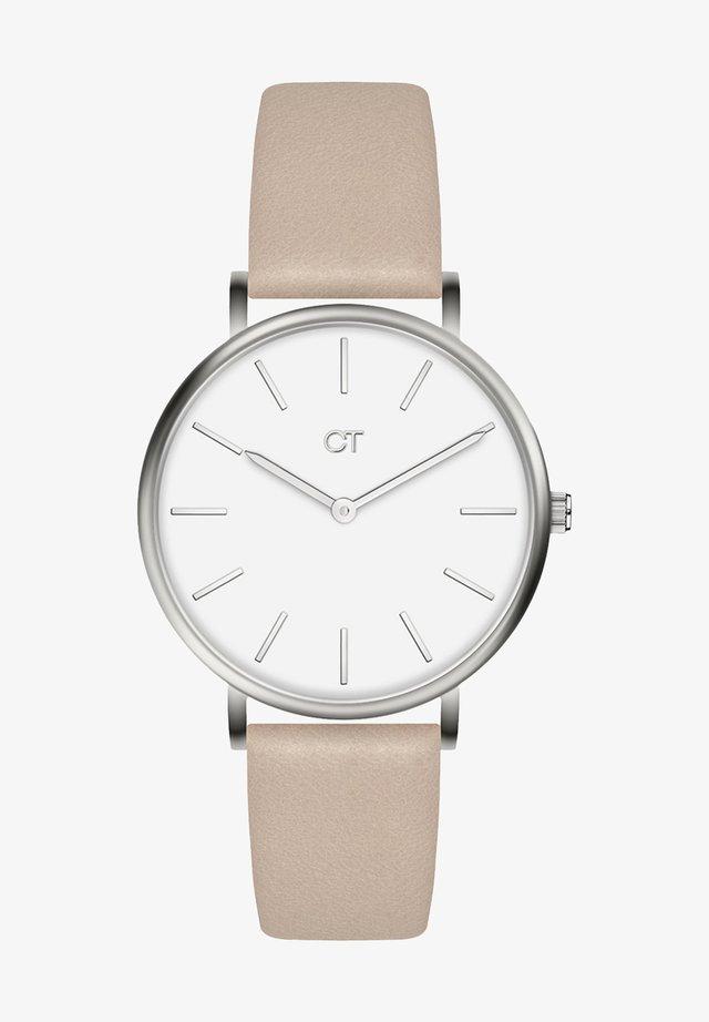 Watch - silber / beige