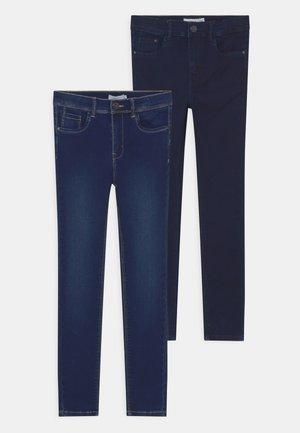 NKFPOLLY PANT 2 PACK - Straight leg jeans - dark blue denim
