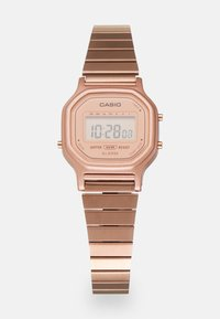 Casio - Digital watch - rosegold-coloured - 2
