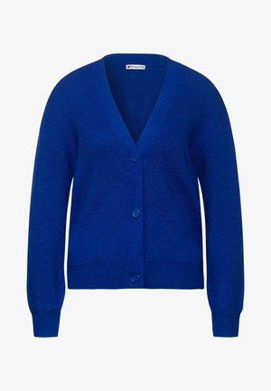 MIT KNÖPFEN - Cardigan - blau