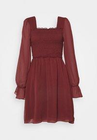 Trendyol - SIYAH - Cocktail dress / Party dress - burgundy - 4