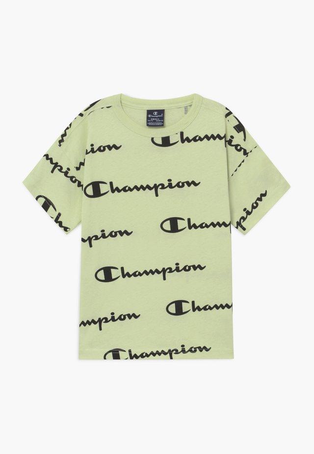 LEGACY AMERICAN CLASSICS CREWNECK - T-shirt z nadrukiem - mint