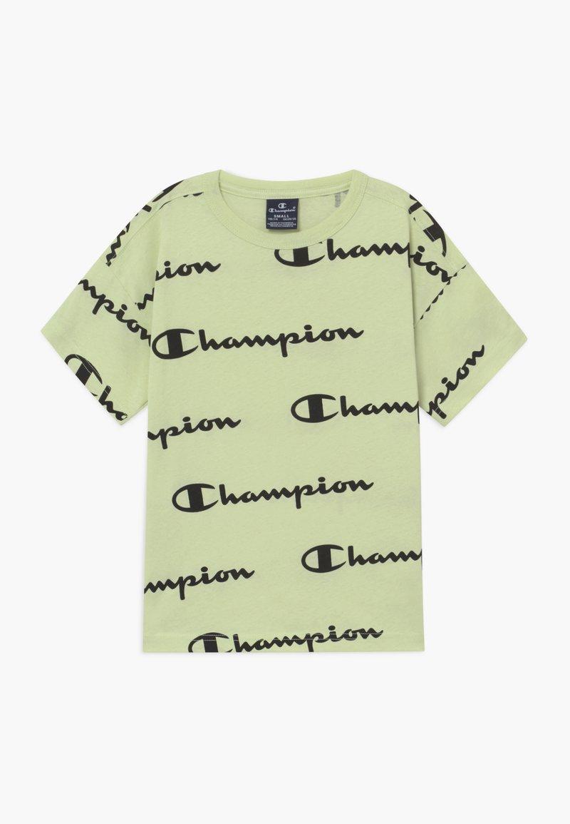 Champion - LEGACY AMERICAN CLASSICS CREWNECK - Print T-shirt - mint