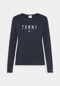 Tommy Jeans - LALA TEE - Topper langermet - twilight navy - 4