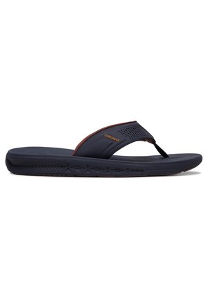 T-bar sandals - blue/brown/blue