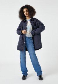 PULL&BEAR - Zimní kabát - dark grey - 3