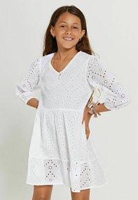 Shiwi - Day dress - bright white - 1