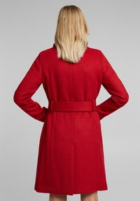 Esprit Collection - Classic coat - dark red - 2