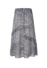 Marc Cain - A-line skirt - midnight blue - 5