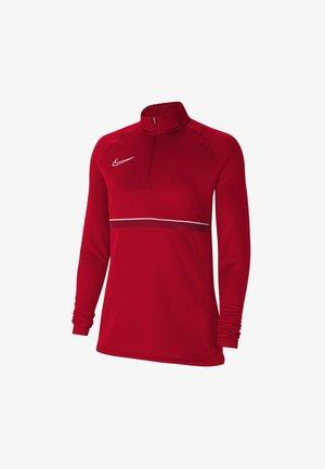 DRY ACADEMY  - Sweatshirt - university red/white/gym red/white