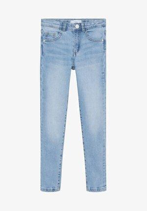 SKINNY - Jeans Skinny Fit - světle modrá