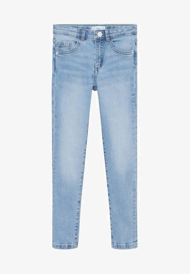 Mango - SKINNY - Jeans Skinny Fit - světle modrá