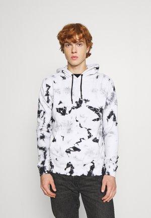 PLATTER - Sweatshirt - black / white tie dye