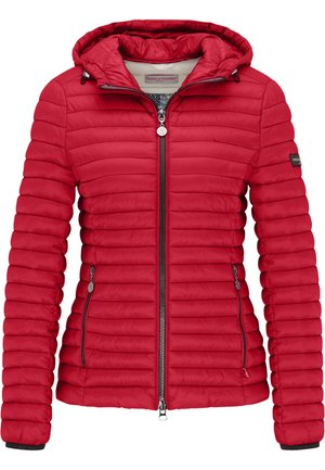 ALL-SEASON-STEPPJACKE FRIDAY V MIT TAILLIERTER PASSFORM - Down jacket - cherry red