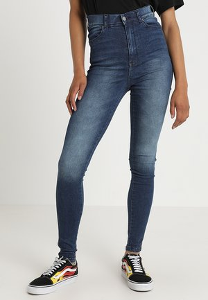 MOXY - Jeans Skinny Fit - worn dark blue