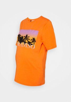 PCMTUHILA TEE - T-shirts print - nectarine