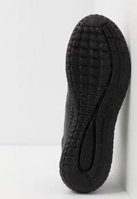 Pier One - UNISEX - Matalavartiset tennarit - black - 4