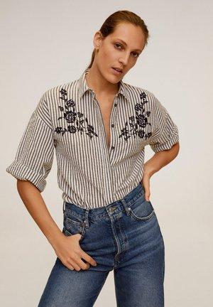 EMBRO-A - Button-down blouse - dunkles marineblau