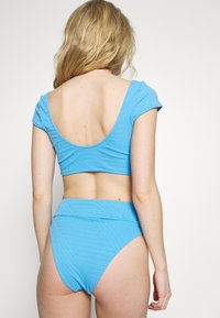 aerie - HI CUT CHEEKY PIECED - Bikiniunderdel - blue - 2