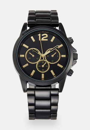 Watch - black/gold-coloured