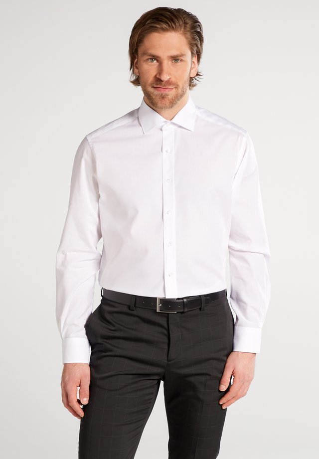 FITTED WAIST - Skjorte - white