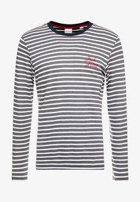 JCOTAYLER TEE CREW NECK - T-shirt à manches longues - sky captain