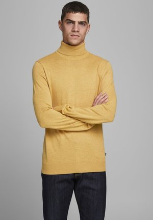 JJEEMIL ROLL NECK - Jumper - spicy mustard