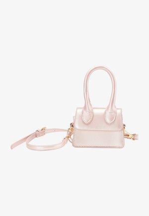 MINI - Across body bag - rosa metallic