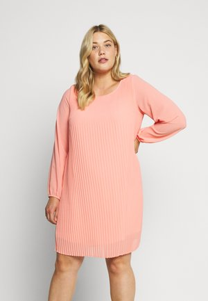 MSIVA ABOVE KNEE DRESS - Day dress - salmon