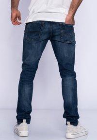 Jack & Jones - JJGLENN JJARIS - Slim fit jeans - dark blue denim - 1