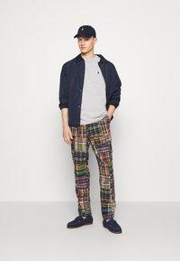 Polo Ralph Lauren - CLASSIC FIT JERSEY T-SHIRT - Basic T-shirt - andover heather - 4