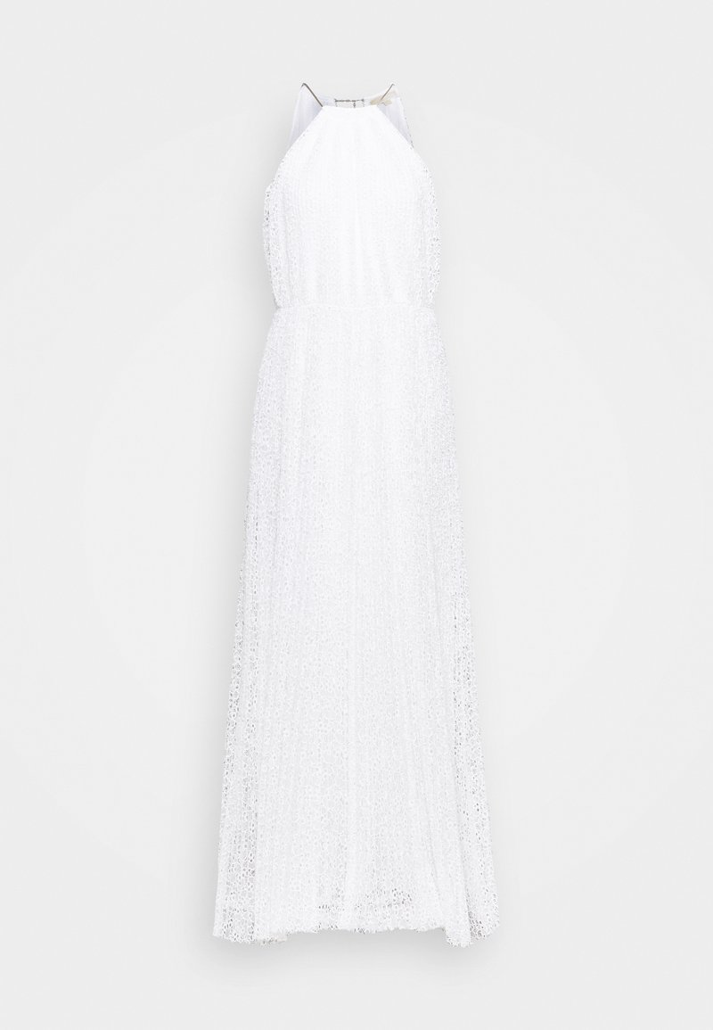 MICHAEL Michael Kors - HALTER CHAIN DRESS - Společenské šaty - white