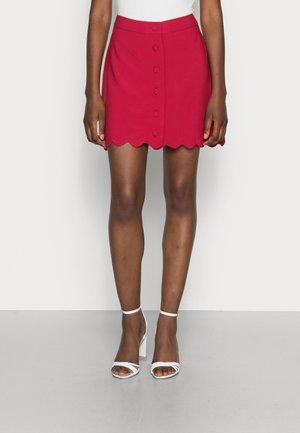 FESTINA  - A-line skirt - rose berry