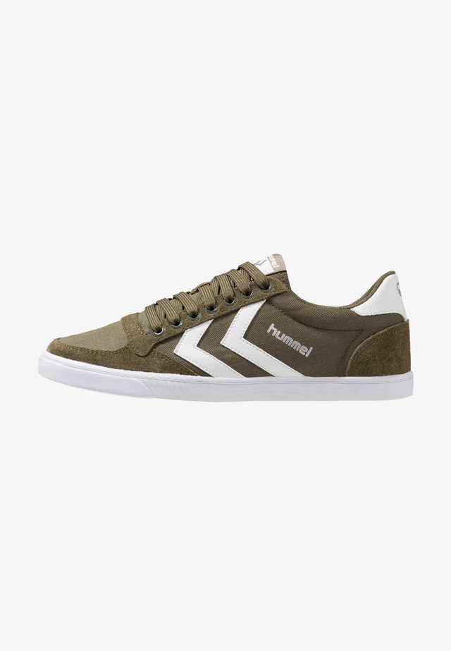 SLIMMER STADIL LOW - Baskets basses - dark olive