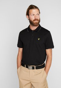 Lyle & Scott - ANDREW - Funktionströja - true black - 0