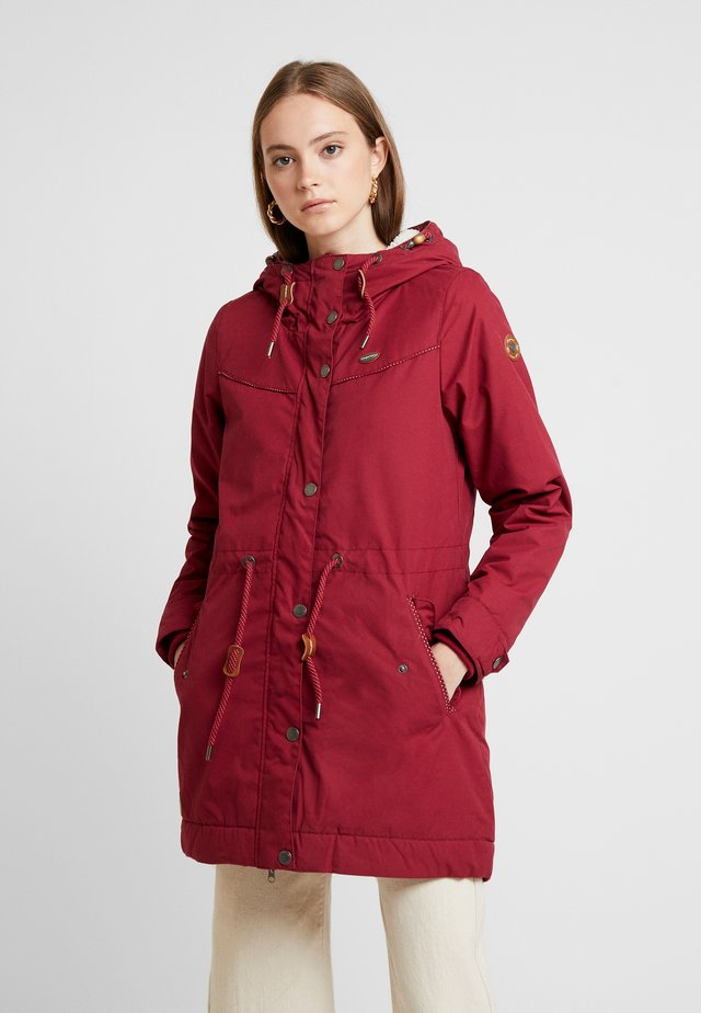 CANNY - Cappotto invernale - wine red