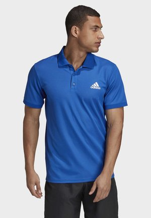 AEROREADY SPORTS TENNIS SHORT SLEEVE POLO - Polo - blue