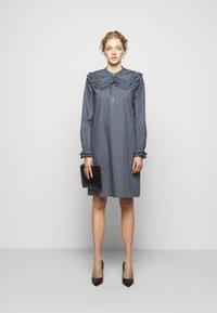 Bruuns Bazaar - POSY EBEN DRESS - Shirt dress - graystone - 1