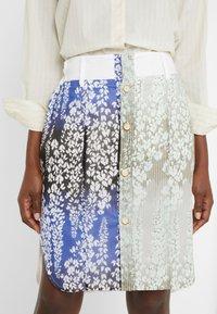 Strenesse - SKIRT - Pencil skirt - multi-coloured - 4
