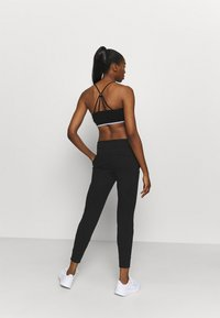 DKNY - TWO TONE JOGGER - Tracksuit bottoms - black