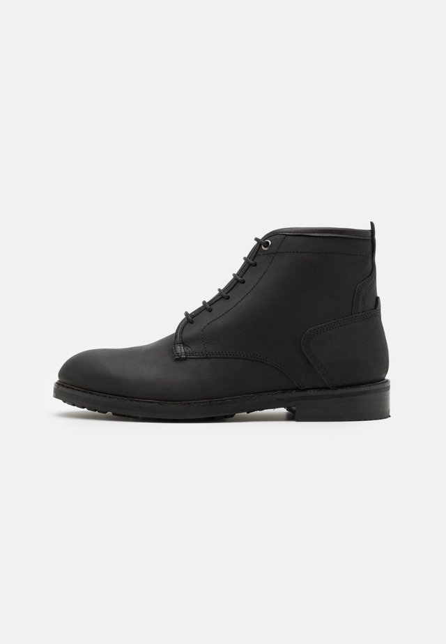 LELAND - Bottines à lacets - black