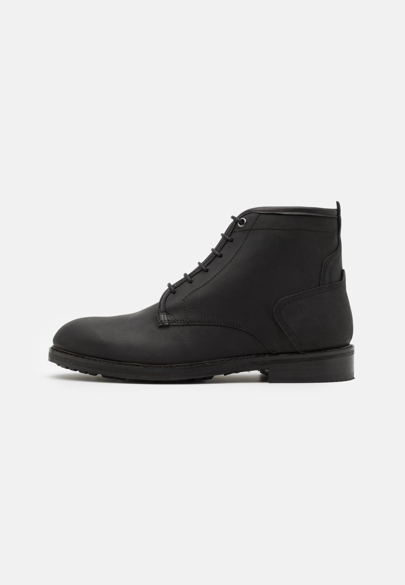 Hudson London - LELAND - Lace-up ankle boots - black