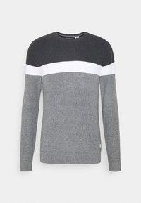 JJOUTLAND CREW NECK - Jumper - grey melange