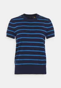 Polo Ralph Lauren - PIMA STRETCH - Print T-shirt - blue/multi - 3