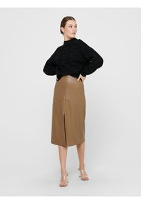 ONLY - Pencil skirt - warm sand - 1